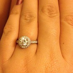 My engagement ring stunning:D