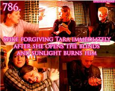 I hated it when Tara was insane, it just hurt so much.