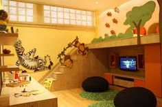 Resultado de imagem para mezanino quarto infantil