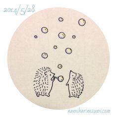 161 しゃぼん玉  soap bubbles