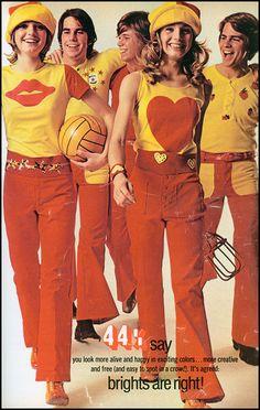 44% Say Brights Are Right! (1971) Seventeen Magazine