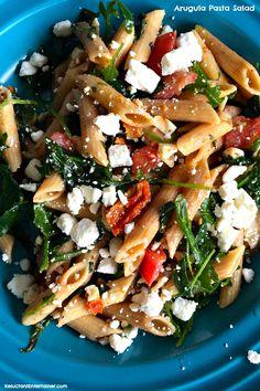 Arugula Pasta Salad by reluctantentertainer #Salad #Pasta #Arugula #Healthy
