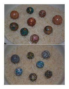 Homemade Marbles!! #DIY #Crafts #SerenitySaturday