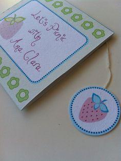 Coleção Picnic  Projeto de ilustração e embalagem por Carla Medianeira Silva Nogueira Ilustração para aplicação em papelaria #carlamedianeiraestampas http://carlamedianeiraestampas.blogspot.com.br #picnic #festapassarinho