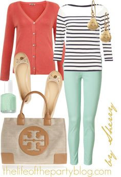 Mint and Coral shop now or repin for a chance to take home free http://www.stelladot.com/denikaclay