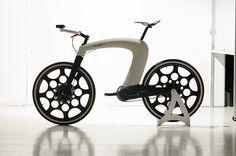 e-bike Ncycle fue creado por Hussain Almossawi y Marin Myftiu diseñadores. Aún en la fase de prototipo,