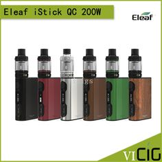 >> Click to Buy << 100% Original Eleaf iStick QC 200W Kit with Melo 300 Tank and iStick QC 200W TC/VW Box Mod 5000mah Built-in Battery #Affiliate