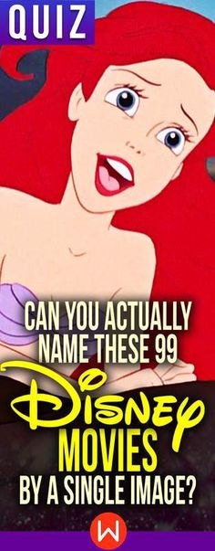 Quiz: Can You Actually Name These 99 Disney Movies By A Single Image? - Women.com