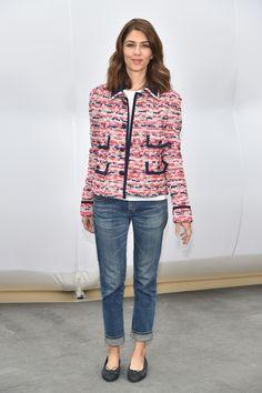 Sofia Coppola - Chanel show @ Paris Fashion Week in Paris, France.  (March 2017)
