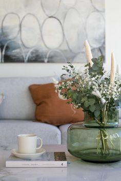Desing Inspiration, Marimekko, Flower Decorations, Your Space, Living Room Decor, Planter Pots, Sweet Home, Throw Pillows, Make It Yourself