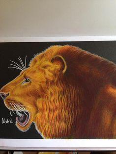 Lion by Debbie Hoskins Dunaway