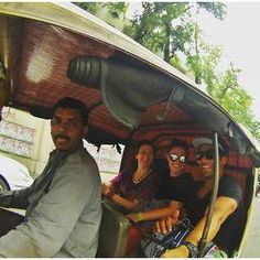 Rickshaws in Lucknow! Never been? Read our post for more!