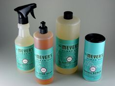 Mrs. Meyer's - Natural Cleaning Products  Lv these all Natural...Products...! K* :)
