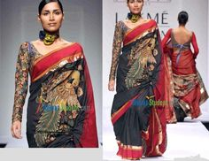Are you ready for one more fashion extravaganza. Much had been said and written about the wonderful art of 'Kalamkari' – the pride of Andhr...
