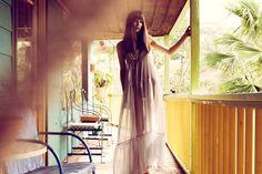 Wilhelmina LA model, Alissa Geraghty, in the Planet Blue lookbook