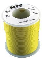 NTE WH20-04-100 100 Foot 300 VHU 20 AWG Stranded Wire (Yellow) by NTE. $11.97