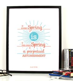 Think Spring Cod produs: Disponibil în. Ellis Peters, Better Day, Cod, Cherry Cherry, Inspirational Quotes, Graphic Design, Orange, Pictures, Spring Flowers