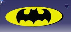 Batman Logo - The Dark Knight #brucewayne #batman #dccomics #engineering