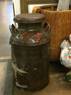 Great Milk Can On Sale   Could be used as a stool.  Was $48 Sale Price $35  Vintage Affection Dealer #1680  White Elephant Antiques 1026 N. Riverfront Blvd. Dallas, TX 75207  Open: Mon. to Sat. 10A to 5P Sun. 1P to 5P  Read more: http://dallas.ebayclassifieds.com/home-decor/dallas/great-milk-can-on-sale/?ad=38572980#ixzz3XJV3LCeR