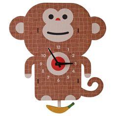 monkey pendulum clock