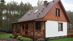 Mother In Law Cottage, Tiny Mobile House, German Houses, Compact House, Rest House, Timber Frame Homes, Tiny House Design, Home Fashion, Traditional House