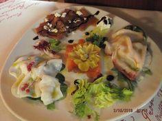 Poker carpacci ( Carpaccio di tonno- seppia - spada affumicato e salmone)