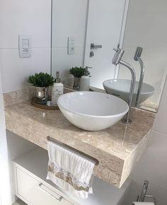 Bathroom Design Luxury, Modern Bathroom Decor, Bathroom Design Small, Bathroom Styling, Smart Home Design, Home Room Design, Washbasin Design, Small Bathroom Sinks, Room Partition Designs