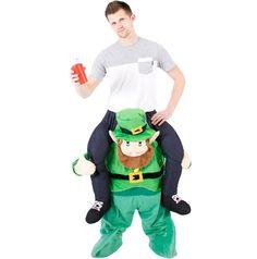 Adult Piggyback Ride On Costume