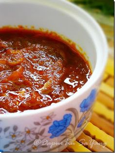 DapurKu SaYang: Sambal Nasi Lemak (resepi II)