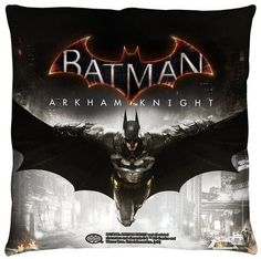 Pillow-Batman Arkham Knight Poster