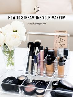 How to Streamline Your Makeup Collection #theeverygirl