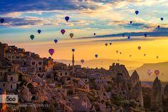 Kapadokya (Cappadocia) by CnRBsR. Please Like http://fb.me/go4photos and Follow @go4fotos Thank You. :-)