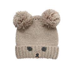 Buy John Lewis Novelty Bear Hat, Brown Online at johnlewis.com