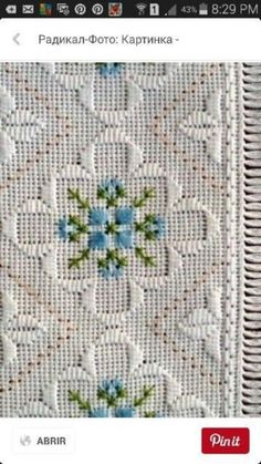 Discover thousands of images about Fobmania (Hardanger) Bargello Needlepoint, Needlepoint Stitches, Needlework, Cross Stitch Borders, Cross Stitch Flowers, Cross Stitch Patterns, Doily Patterns, Dress Patterns, Hardanger Embroidery