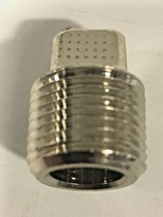 "Nickel Plated Brass Pipe Fitting Square Head Plug 1/2"" NPT - Polyconn PC109NB-8 #Polyconn"