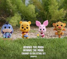 Winnie the Pooh - Winnie the Pooh Cosbaby (S) Cute Kawaii Animals, Kawaii Illustration, Winnie The Pooh, Cartoon, Toys, Disney, Artist, Activity Toys, Artists