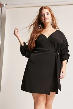 Plus Size Wrap Dress | Forever 21