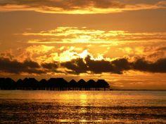 Polynesian sunset