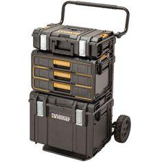 DeWalt DS295 Tough System Three Drawer Parts Tool Box