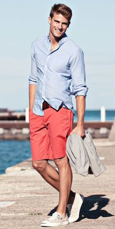 Casual Summer Outfits Ideas For Men Over 30 02 Mens Fashion Summer Outfits, Cool Summer Outfits, Mens Fashion Suits, Fashion Spring, Casual Outfits, Linen Suits For Men, Mens Fashion Magazine, Look Man, Moda Emo