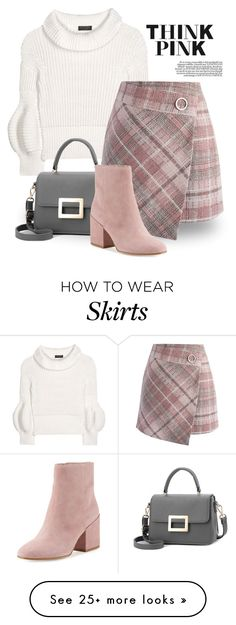 """""""Pink Outfits 2817"""" by boxthoughts on Polyvore featuring Burberry, Chicwish and Sam Edelman"""