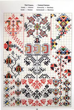 Hello all, I recently received a request as to how to tell the difference between Ukrainian Bukovyna embroidery and Romanian Bucov. Polish Embroidery, Folk Embroidery, Cross Stitch Embroidery, Cross Stitch Borders, Cross Stitch Charts, Cross Stitch Patterns, Palestinian Embroidery, Folk Clothing, Creative Embroidery