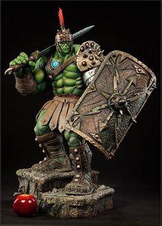 Gladiator Hulk Premium Format Figure - Sideshow Toys