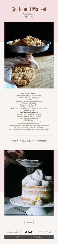 Girlfriend Market Begins Tonight! April 11, Camellia, Girlfriends, Catering, Passion, Tea, Marketing, Cool Stuff, Sweet