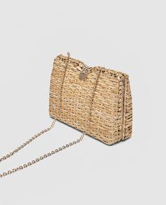 Wicker clutch - Zara