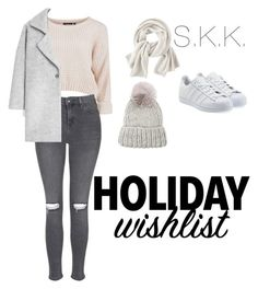 """""""Untitled #13"""" by stella1212 on Polyvore featuring Topshop, MANGO, adidas Originals, Wrap and Eugenia Kim"""