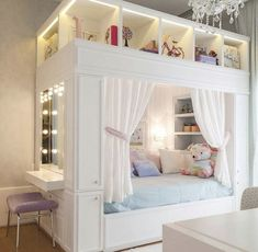 125 charming fun tween bedroom ideas for girl page 8 Small Girls Bedrooms, Bedroom Decor For Teen Girls, Cute Bedroom Ideas, Room Ideas Bedroom, Small Room Bedroom, Awesome Bedrooms, Girl Bedrooms, Bedroom Ideas For Tweens, Tween Girls