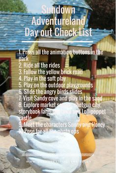 Sundown Adventureland, Near Retford, Nottinghamshire. Your check list for a great day out. Plus a detailed blog review. Fun day out for families with under 10's. A great theme park younger children