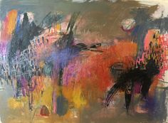 """Blackbird, singing""   22"" x  30"" Acrylic, graphite, mixed media on  Fabriano 300# paper"