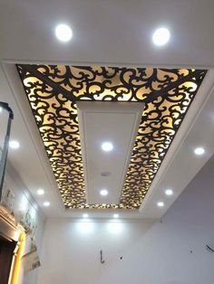 Pvc Ceiling Design, Simple False Ceiling Design, Ceiling Design Living Room, Bedroom False Ceiling Design, Jalli Design, Door Design, House Design, Wall Partition Design, Open Floor House Plans